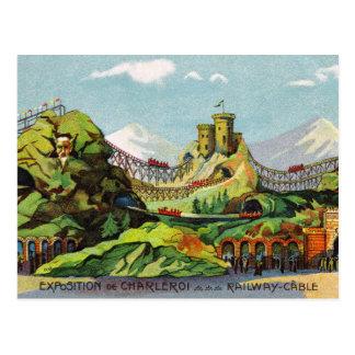 Exposition de Charleroi Postcard