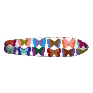 Exposition de papillon plateaux de skateboards