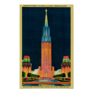 Exposition Tower, The Spire to the Sun Poster