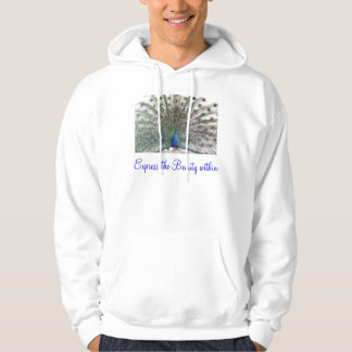 Express the Beauty adult hoodie