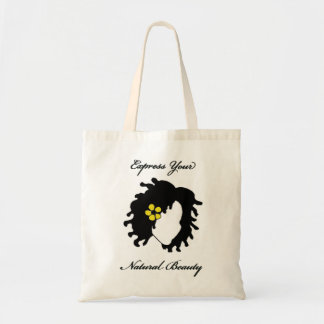 Express Your Natural Beauty- Locs Tote Bag