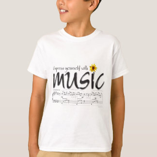 Express Yourself with Music T-Shirt