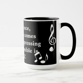 Expressing the Inexpressible Music Mug