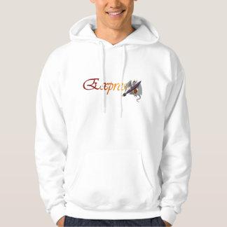 """Expression"" Dragon & Paintbrush Sweatshirt"