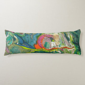 Expressionism Art Modern Abstract Body Pillow