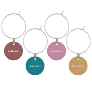 Expressions Set of 4 Wine Charms