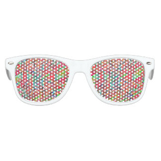 Expressive Abstract Grunge Party Sunglasses