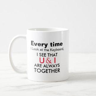 Expressive Mugs U & I