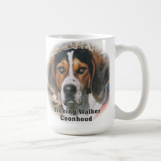 Expressive Treeing Walker Coonhound Mug