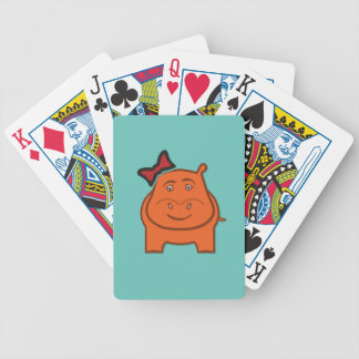 Expressively Playful Dianne Bicycle Playing Cards