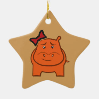 Expressively Playful Dianne Ceramic Star Ornament