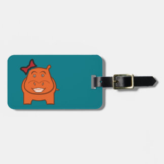 Expressively Playful Dianne Luggage Tag
