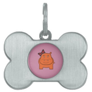 Expressively Playful Dianne Pet ID Tag