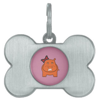 Expressively Playful Dianne Pet Tag