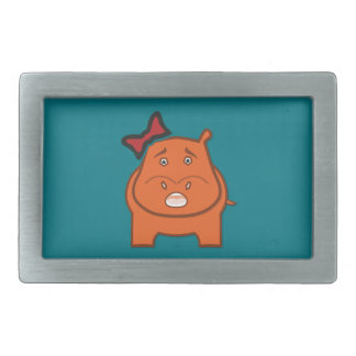 Expressively Playful Dianne Rectangular Belt Buckle