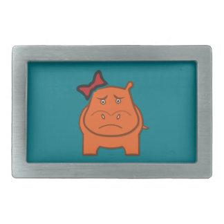 Expressively Playful Dianne Rectangular Belt Buckles