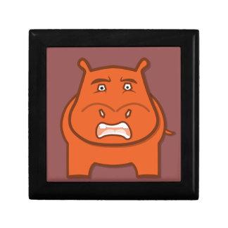 Expressively Playful Jack bondswell Mascot Gift Box