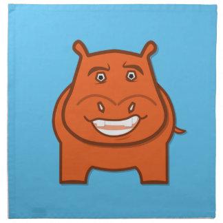 Expressively Playful Jack bondswell Mascot Napkin