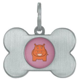 Expressively Playful Jack bondswell Mascot Pet Tag
