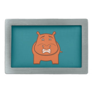 Expressively Playful Jack bondswell Mascot Rectangular Belt Buckle
