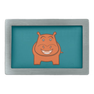 Expressively Playful Jack bondswell Mascot Rectangular Belt Buckles