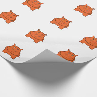 Expressively Playful Jack bondswell Mascot Wrapping Paper