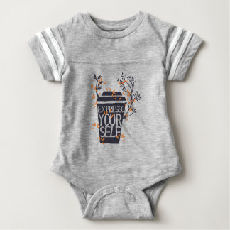 expresso your self baby bodysuit
