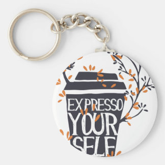 expresso your self keychain