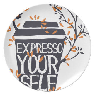 expresso your self plate