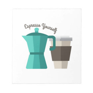 Expresso Yourself Notepad