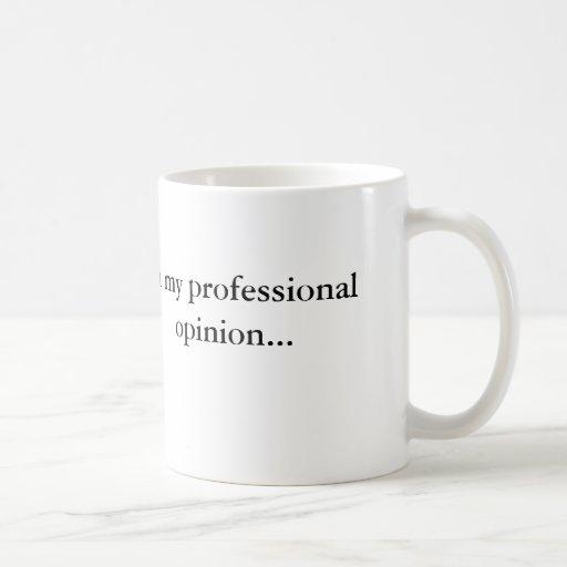 Exprimez votre avis professionnel ! mugs