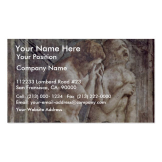 Expulsion From Paradise By Masaccio Best Quality Business Card Templates