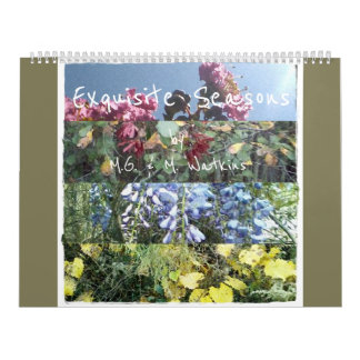 Exquisite Seasons Enhanced Photographic Nature Art Wall Calendars