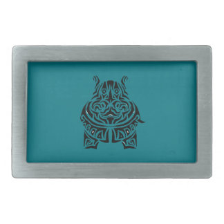 Exquisitely Playful Tribal Tattoos Belt Buckles
