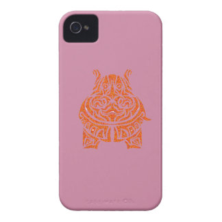 Exquisitely Playful Tribal Tattoos iPhone 4 Cover