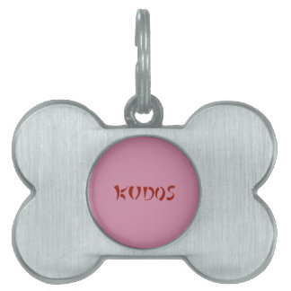 Exquisitely Playful Tribal Tattoos Pet ID Tag