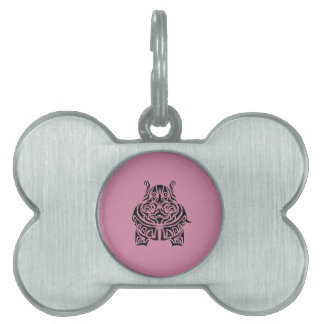 Exquisitely Playful Tribal Tattoos Pet ID Tags