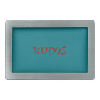 Exquisitely Playful Tribal Tattoos Rectangular Belt Buckle