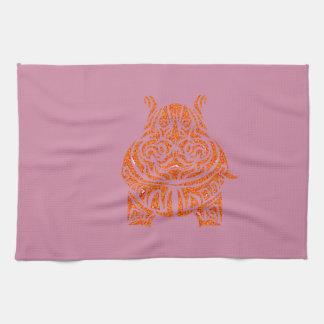 Exquisitely Playful Tribal Tattoos Towels