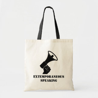 Extemporaneous Speaking Tote
