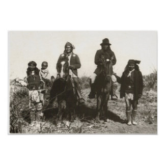 Extended Family Portrait of Geronimo Poster