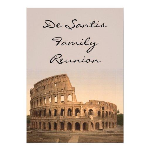 Extérieur du Colosseum, Rome, Italie Bristols