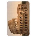 Extérieur du Colosseum, Rome, Italie Magnets Rectangulaire