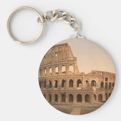 Extérieur du Colosseum, Rome, Italie Porte-clés