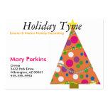 Exterior & Interior Holiday Decorating Business Card