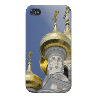 Exterior of Saint Alexander Nevsky Cathedral 3 Cases For iPhone 4
