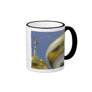 Exterior of Saint Alexander Nevsky Cathedral 4 Ringer Coffee Mug