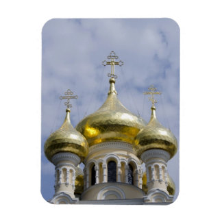 Exterior of Saint Alexander Nevsky Cathedral Rectangular Photo Magnet