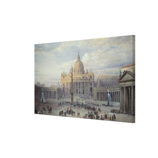 Exterior of St. Peter's Canvas Print