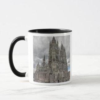 Exterior of the Basilica in Quito, Ecuador Mug
